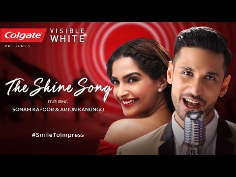 The Shine Song Lyrics - Arjun Kanungo   Sonam Kapoor #SmileToImpress