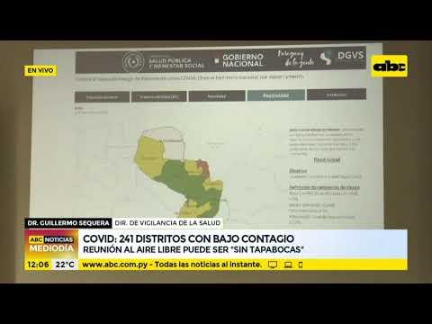 COVID: 241 distritos están con bajo contagio y nivel de transmisibilidad es cada vez menor