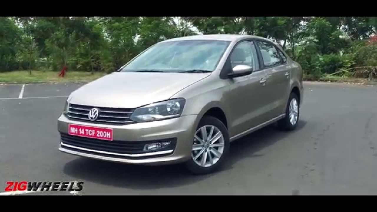 2015 Volkswagen Vento facelift :: WalkAround Video :: ZigWheels