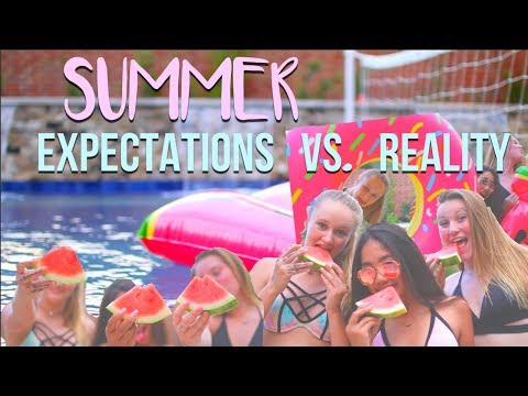 Summer EXPECTATIONS VS REALITY!! + GIVEAWAY 2017