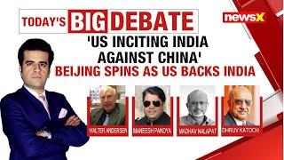 'U.S Inciting India against China' | Beijing spins as U.S backs India | NewsX - NEWSXLIVE