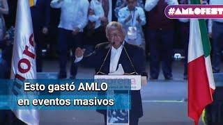 AMLO gasta más de 36 millones de pesos en
