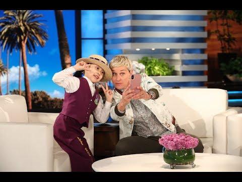 Tiny Dancer Lil' Mushroom Visited the Wrong Ellen Star on the Walk of Fame