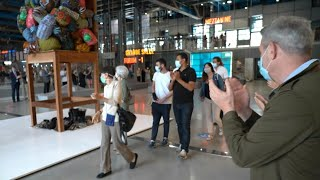 Applause as public return to reopened Centre Pompidou in Paris | AFP