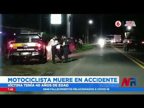 Motociclista muere en accidente en Sarapiquí