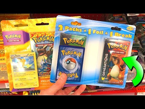connectYoutube - OUT OF PRINT PACKS AT TARGET! - Opening RARE Pokemon Cards From The Store!