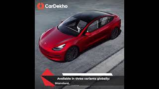 Tesla Model 3 in India: Features, Specifications, Range and More! Full Details | CarDekho.com