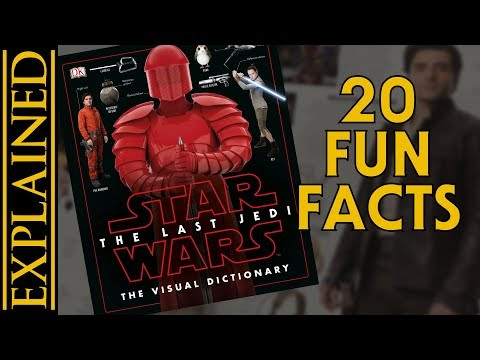 20 Fun Facts From The Last Jedi Visual Dictionary