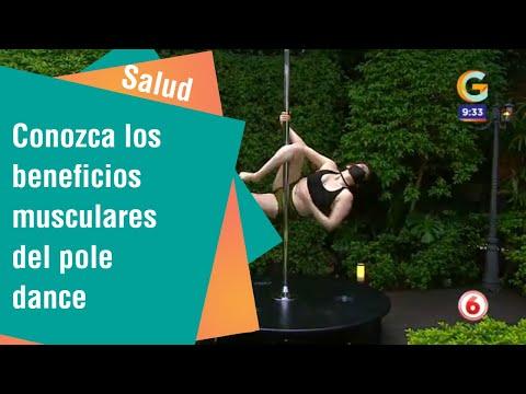No es solo sensualidad: Conozca los beneficios musculares del pole dance | Salud