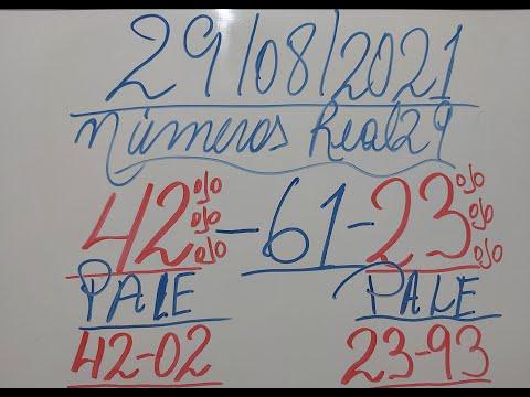 NUMEROS PARA HOY 29/08/21 DE AGOSTO PARA TODAS LAS LOTERIAS¡¡¡NUMEROS REAL 29