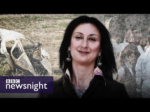 connectYoutube - The murder of journalist Daphne Caruana Galizia: Malta's shame? - BBC Newsnight