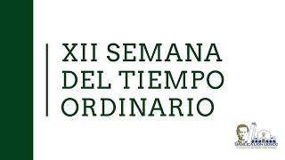 Eucaristía de la memoria  de San Luis Gonzaga, religioso. Misa matutina.