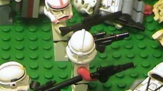 Lego Clone Wars 501st Legion IV - Confederacy Strikes (filmed in 2007)