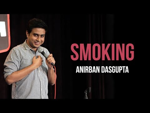 connectYoutube - Smoking | Anirban Dasgupta stand-up comedy
