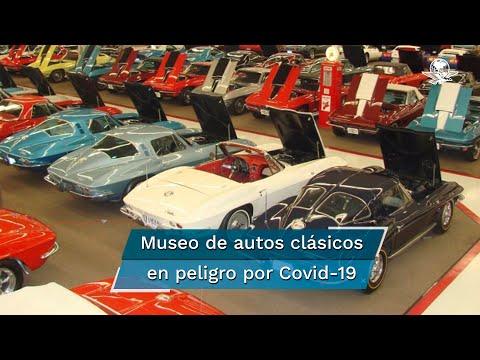 Museo de autos clásicos subastará 200 coches para evitar irse a la quiebra por Covid-19