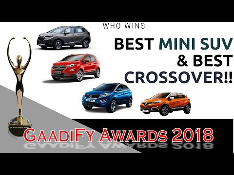 connectYoutube - Gaadify Mini SUV & Crossover of the Year | GaadiFy Awards 2018