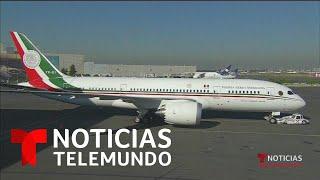 Fracasa el intento de vender el avión presidencial mexicano   Noticias Telemundo