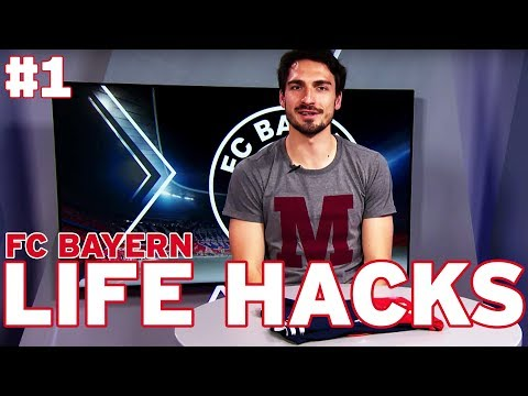 Mats Hummels: How to fold your football shirt | FC Bayern Life Hacks #1