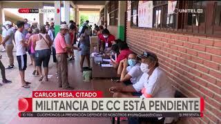 Gustavo Pedraza dice que el Gobierno quiere