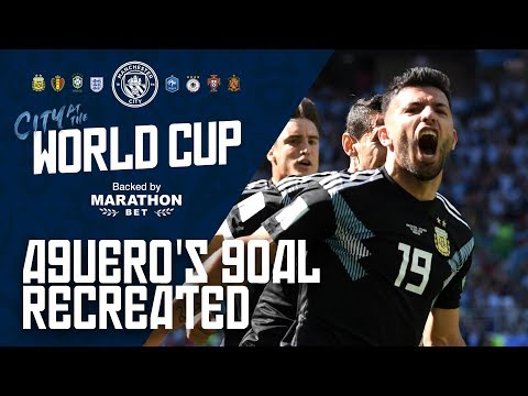 AGUERO'S GOAL RECREATED | City at the World Cup 2018 | Episode 3