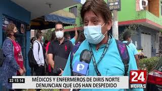 Diris Lima Norte desmintió despedido de médicos y falta de pagos