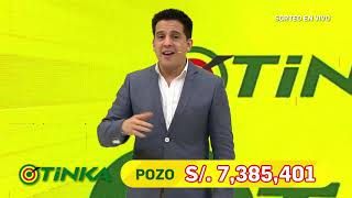 Sorteo Tinka - Miércoles 23 de Setiembre de 2020.