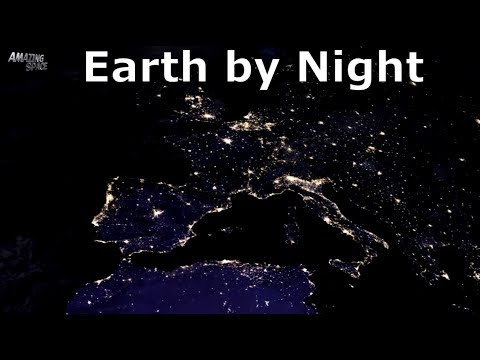 Earth At Night - The Black Marble