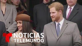 La reina Isabel II respeta la decisión de Harry y Meghan. ¿Renunciarán a sus títulos   Telemundo