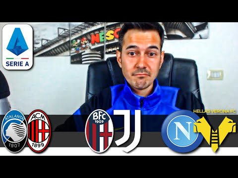 SUICIDIO NAPOLI! MILAN E JUVE IN CHAMPIONS   Atalanta-Milan, Bologna-Juve e Napoli-Verona