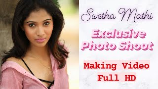 Swetha Mathi l Exclusive Photo Shoot Making Video Full HD | Ragalahari - RAGALAHARIPHOTOSHOOT