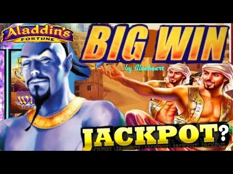 connectYoutube - ★ BIGGEST ON YOUTUBE ★  ALADDIN'S FORTUNES 3D slot machine LIVE PLAY MASSIVE BONUS WIN!