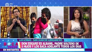 En Boca De Todos: Sofía Franco rompió en llanto al ayudar a padre soltero con cinco hijos