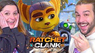 ON DECOUVRE LE NOUVEAU JEU EXCLU PS5 : RATCHET ET CLANK : RIFT APART ! IL EST INCROYABLE !
