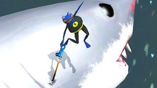 GIANT SHARK RIDE - Amazing Frog - Part 88 | Pungence