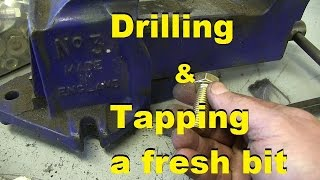 Drilling and Tapping for German Virgins.  \\ GUDENTOIGHT!  //