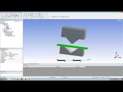 ANSYS Workbench Tutorial Video | Explicit Dynamics Analysis