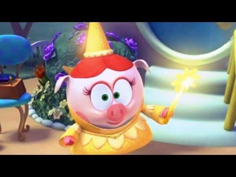 Кадр из мультфильма «Смешарики. Новые приключения. Добрая фея»