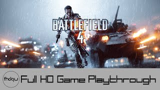 Battlefield 4 Campaign - Full Game Playthrough (No Commentary)