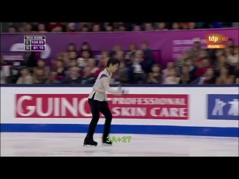 [ENG SUB] Spanish Commentary: Yuzuru Hanyu (JPN) FS - GPF 2015
