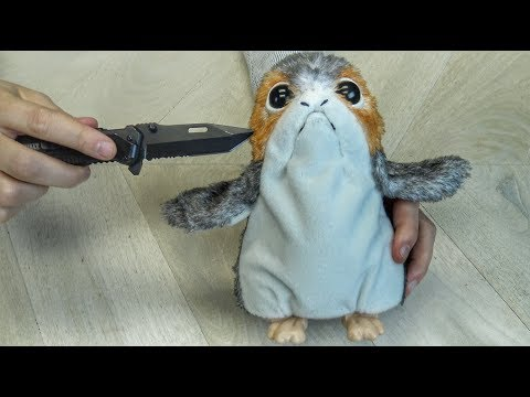 What's inside PORG From STAR WARS?