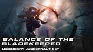 Dota 2 Balance of the Bladekeeper (Legendary Juggernaut Set)