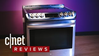 LG LSE4617ST induction stove review