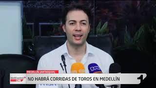 Alcalde de Medellín firma pacto ambiental que prohíbe las corridas de toros por cuatro años