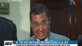 TSE exige a la Junta Electoral pronunciarse sobre la candidatura de Leonel Fernández
