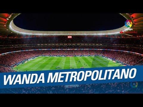 El estreno del Wanda Metropolitano