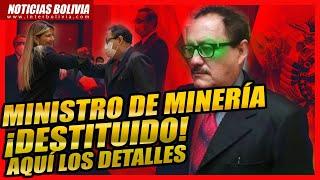 """???? Áñez destituyó al ministro de Minería de Bolivia por sus """"expresiones r a c i s t a s"""" ????"""