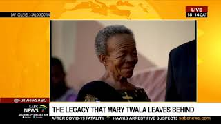 John Kani on memories of the late legendary actress Mary Twala Mhlongo