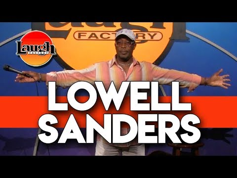 connectYoutube - Lowell Sanders | Security Threat | Laugh Factory Stand Up Comedy