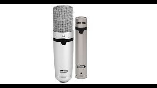 SDC vs LDC Microphone Comparison: Miktek C5 & C7 Microphones on Acoustic Guitar