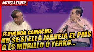 ????Fenando Camacho: Parece que quieren quedarse en el poder indefinidamente.